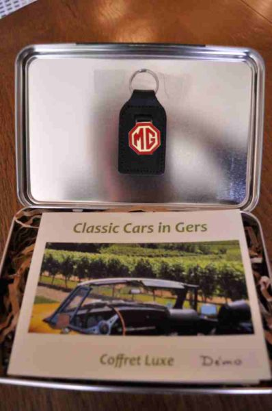 Classic Cars in Gers coffret cadeau