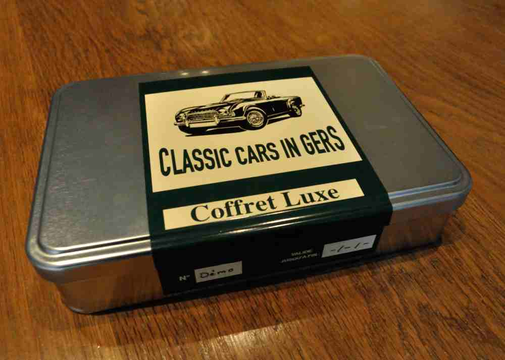 Classic Cars in Gers coffret cadeau luxe 1