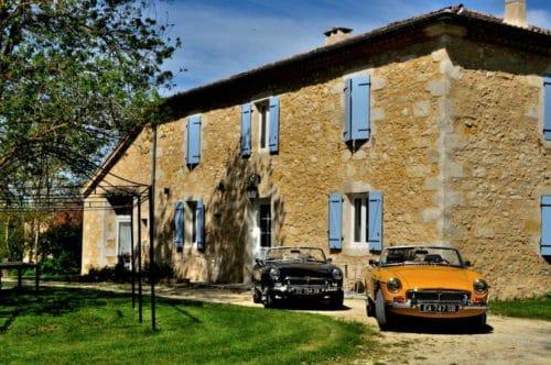 Classic Cars in Gers chambre d'hôtes de charme et location de cabriolets anciens